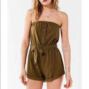 Urban Outfitters Army Green Romper